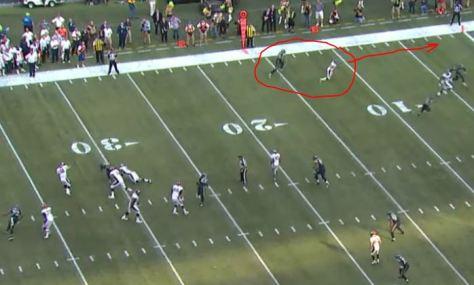 Broncos' tying TD pass vs Seahawks