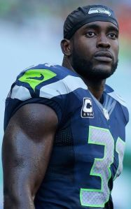 Kam Chancellor during the fourth quarter against Denver (Getty)