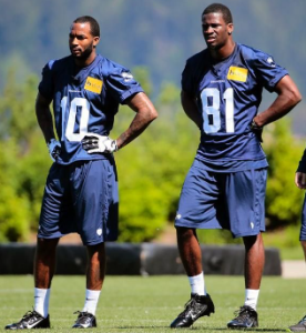 Paul Richardson and Kevin Norwood