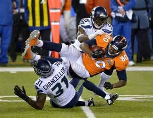 Julius Thomas vs Seahawks
