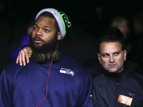 Michael Bennett and Drew Rosenhaus