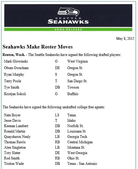 Seahawks moves May 8