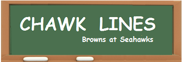 chawk lines -- Browns