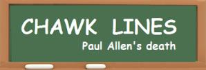 CHAWK LINES -- Paul Allen
